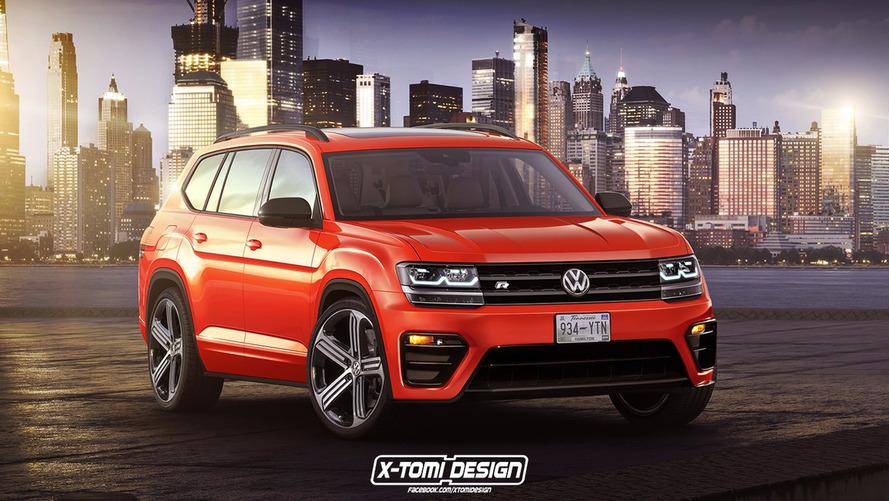 Volkswagen Atlas R - L'image qui donne des frissons