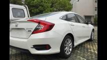 Novo Honda Civic 2017 é flagrado com o inédito motor 1.0 i-VTEC turbo