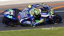 MotoGP Valencia - Valentino Rossi testing for Yamaha