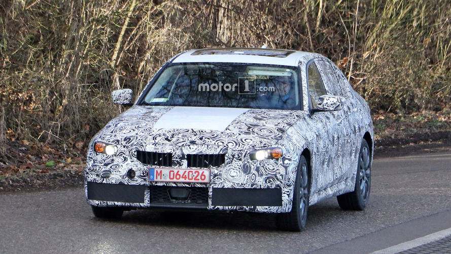 2018 BMW 3 Series M Sport spy photos