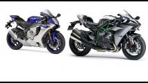 Superbikes: o que esperar das novas Ninja H2 e Yamaha R1 contra as rivais?