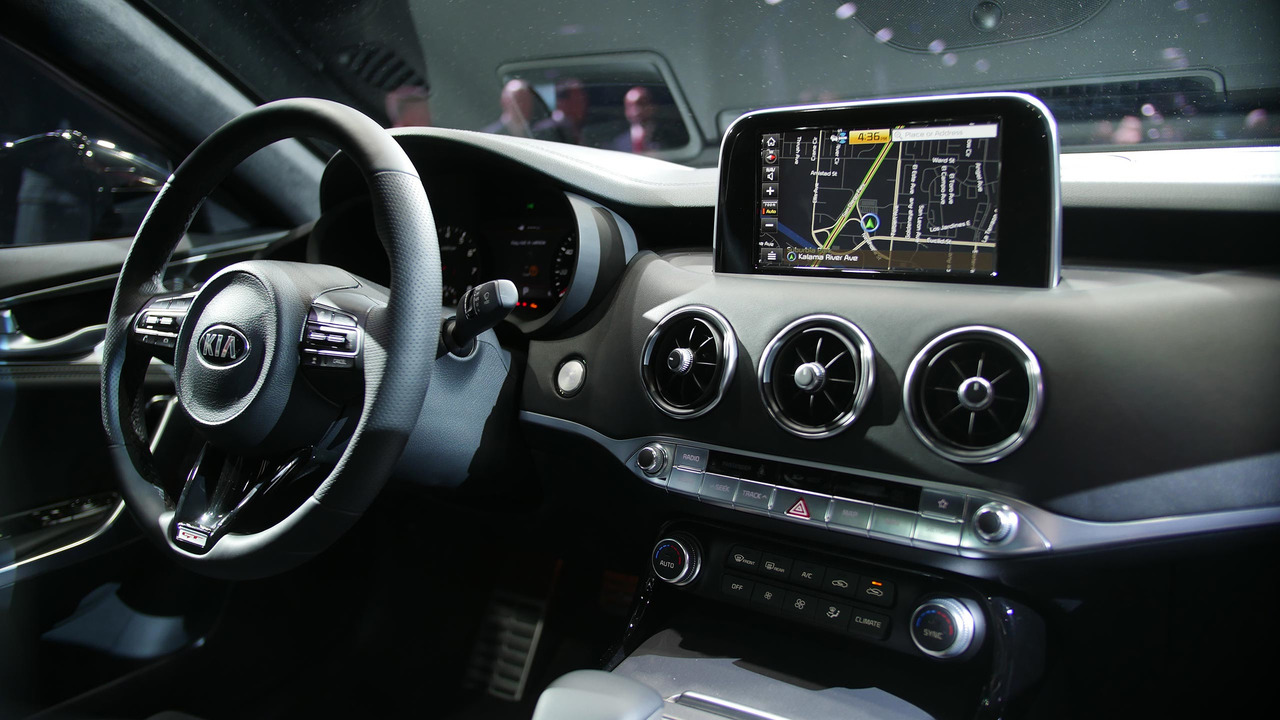 2018 Kia Stinger is a stylish gran turismo with biturbo V6 ...