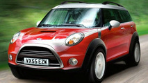 Mini Crossman SUV Rendering
