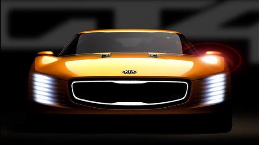 Kia GT4 Stinger, nata per stupire