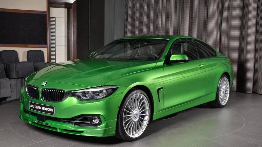 Une BMW Alpina B4 S unique chez Abu Dhabi Motors