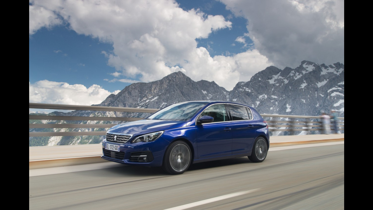 Peugeot 308 restyling 2017