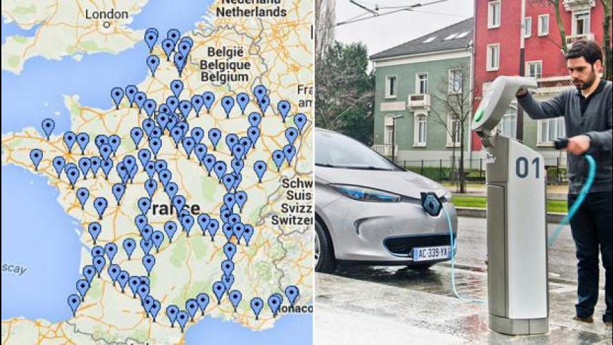 Auto elettrica, la Francia mette il turbo