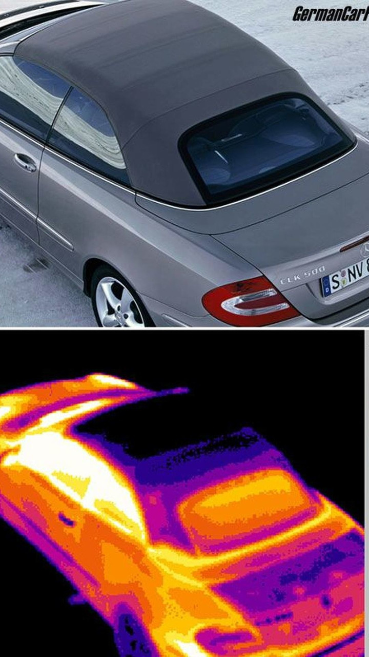 MB CLK Class Offers Ideal Thermal Comfort