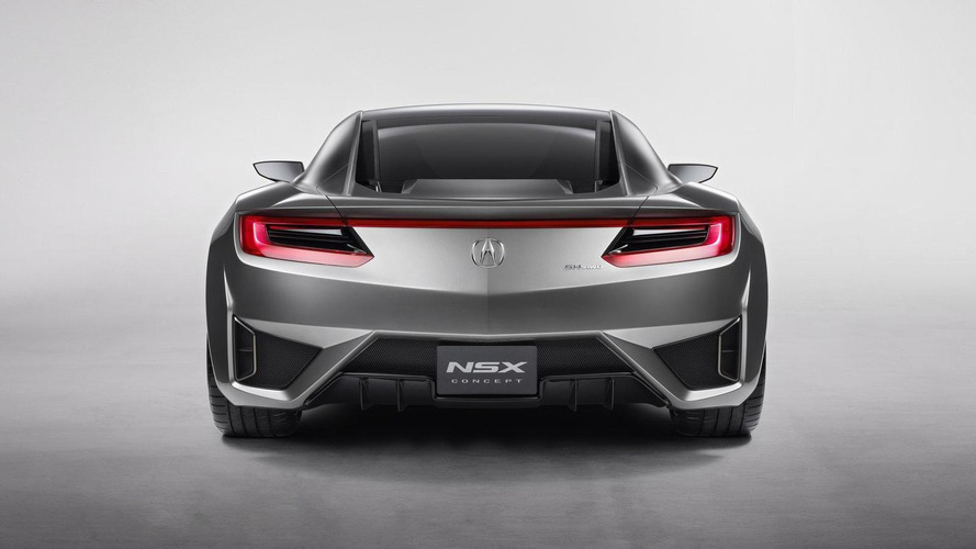 Acura NSX to be built in US - revealed in Detroit [videos]