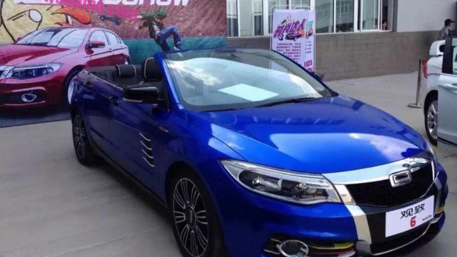 Qoros 6 four-door cabrio debuts in China as one-off