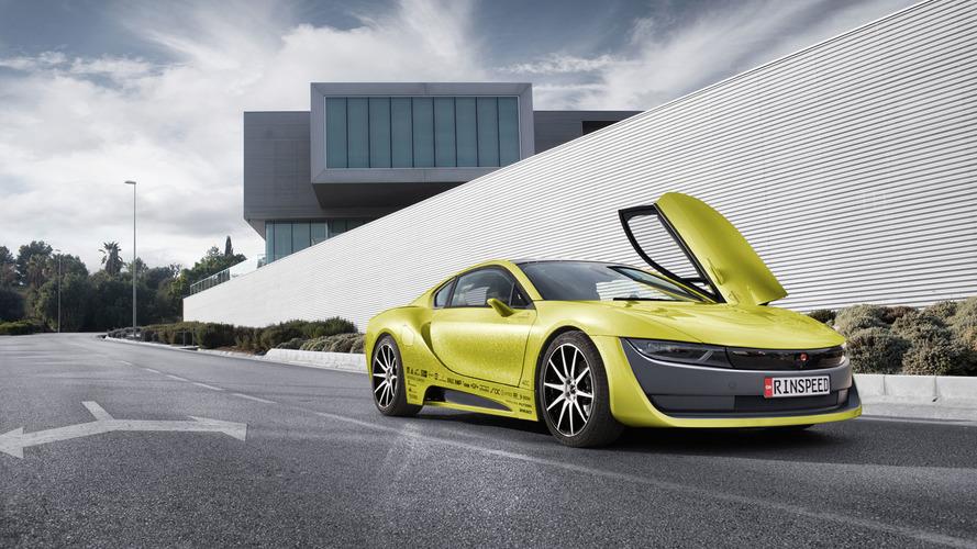Rinspeed Etos concept unveiled as an autonomous BMW i8 [video]