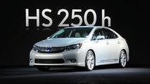 2010 Lexus HS 250h hibrit tanıtıldı