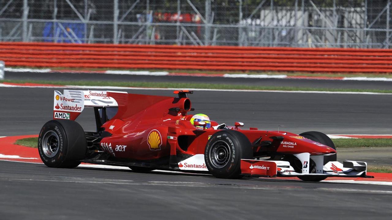 Felipe Massa, Scuderia Ferrari, 2010 British Grand Prix, Silverstone