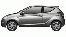 Hyundai i20 Coupe Leaked Design Image