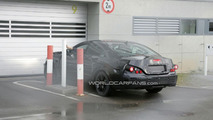 2011 Mercedes CLS first spy shots