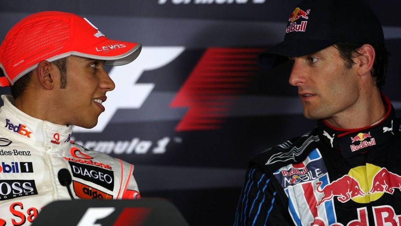 Lewis Hamilton (GBR), Mark Webber (AUS), Abu Dhabi Grand Prix, 31.10.2009 Abu Dhabi, United Arab Emirates