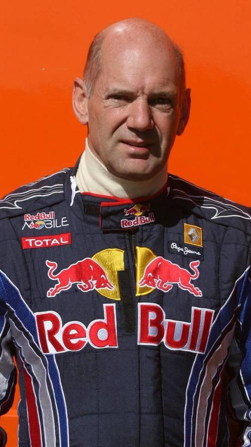 Red Bull F1 boss Newey hospitalised after racing crash