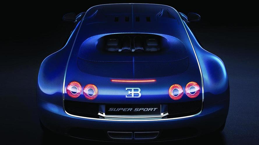 Bugatti Veyron Super Sport World Record Edition limited to 10 mph less than world record