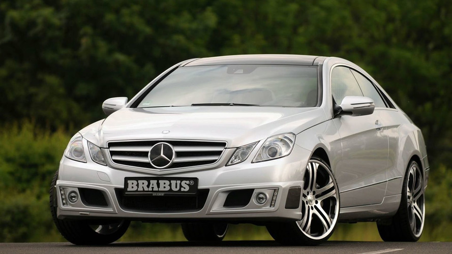 Brabus Enhanced Mercedes E-Class Coupe Unleashed with 462hp