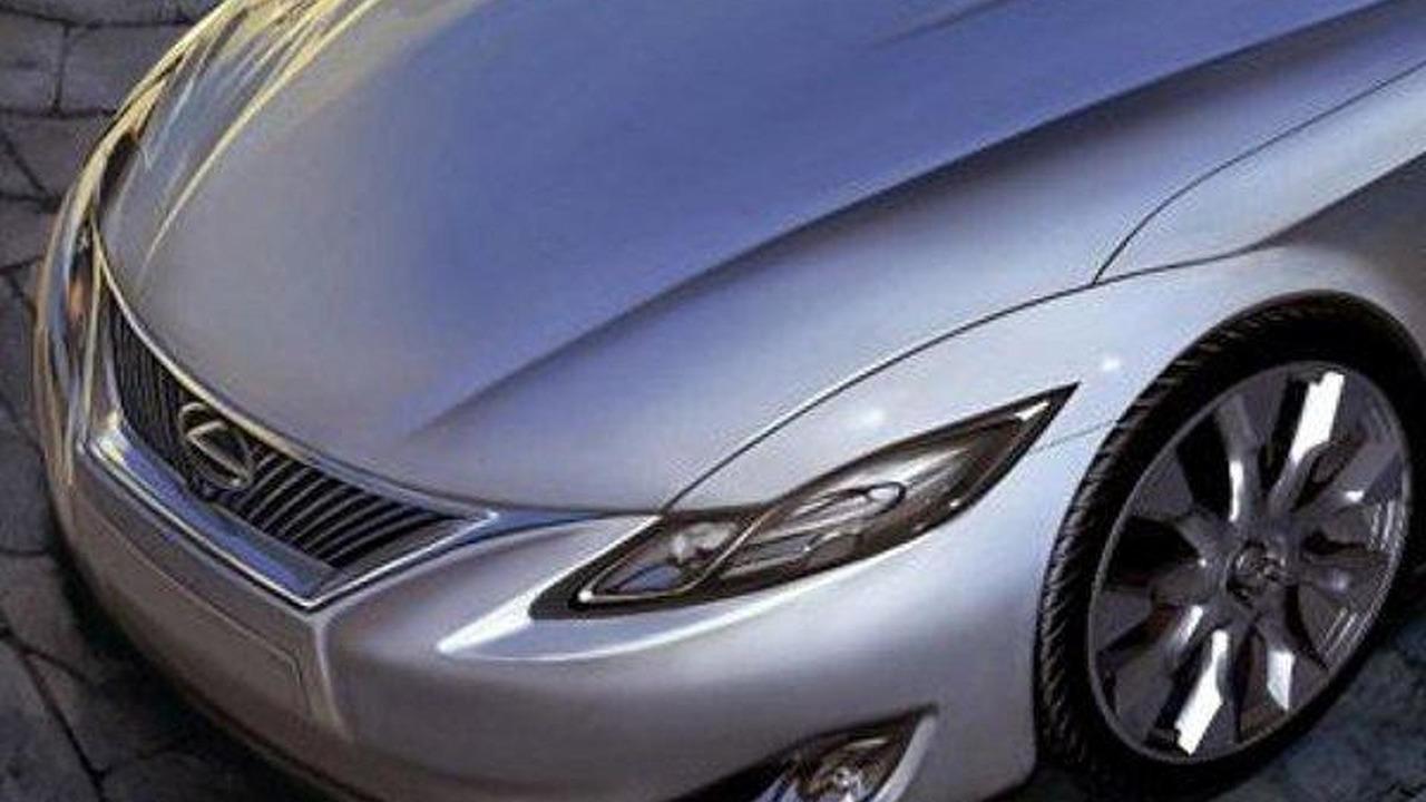 2015 Lexus LC 600h artist rendering