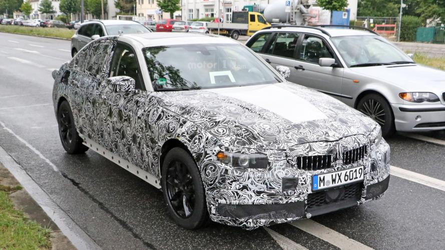 BMW Série 3 2018 photos espion