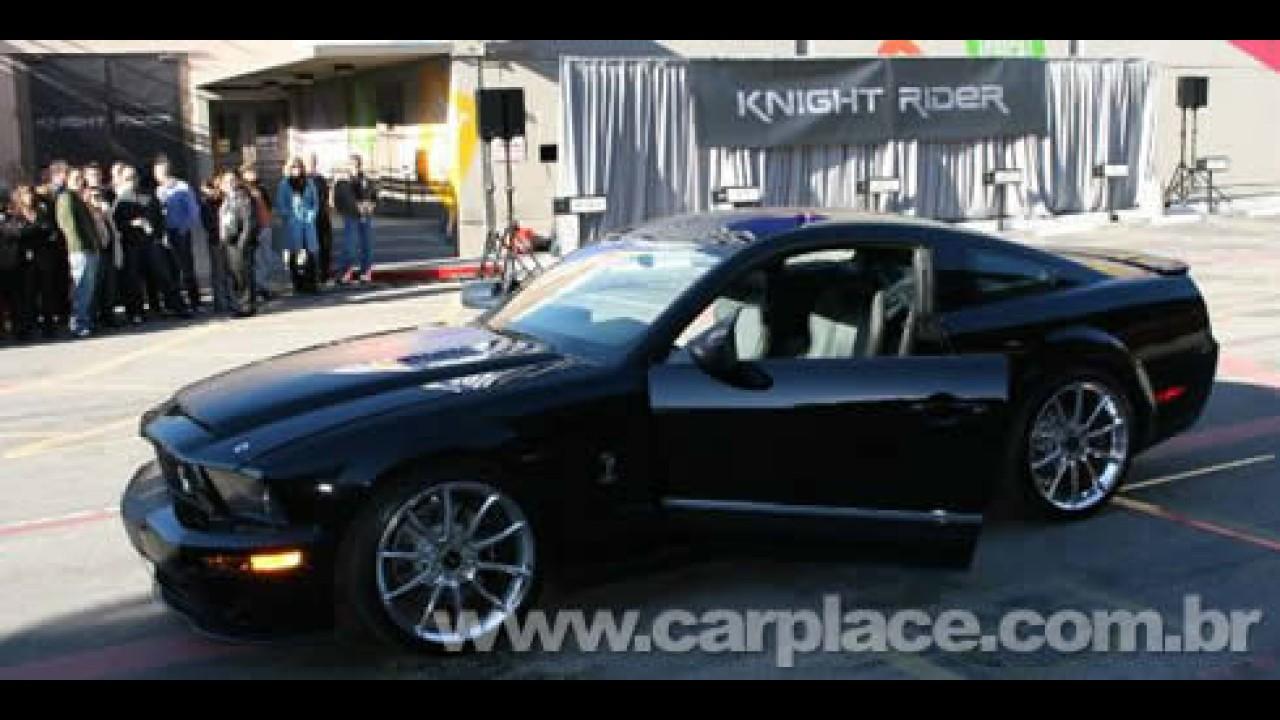 """Sinal verde para série """"Supermáquina"""" com Ford Mustang Shelby GT500K"""