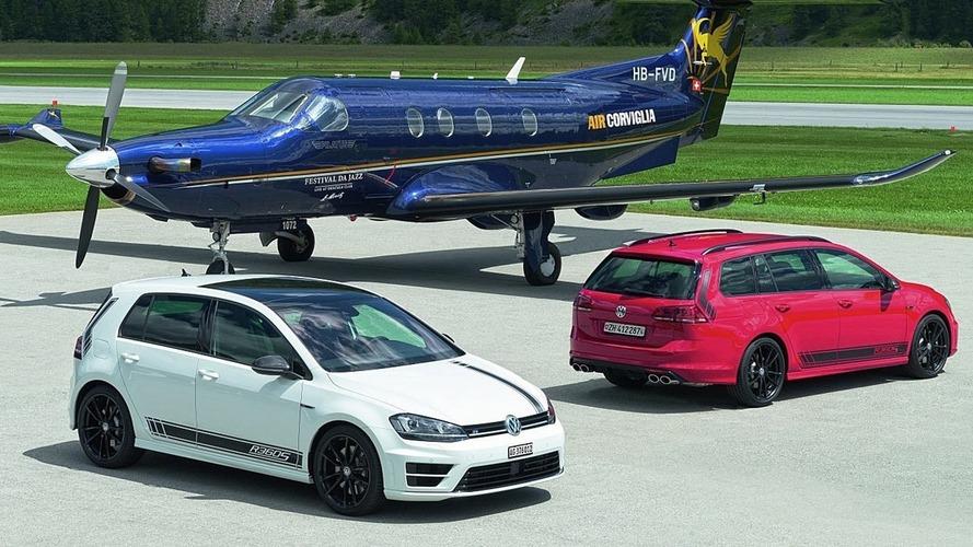 Volkswagen, İsviçre'yi 360 bg'lik Golf R ile selamlıyor