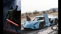 Darth Vader'dan Ivan Drago'ya kötü adamların araba tercihleri!