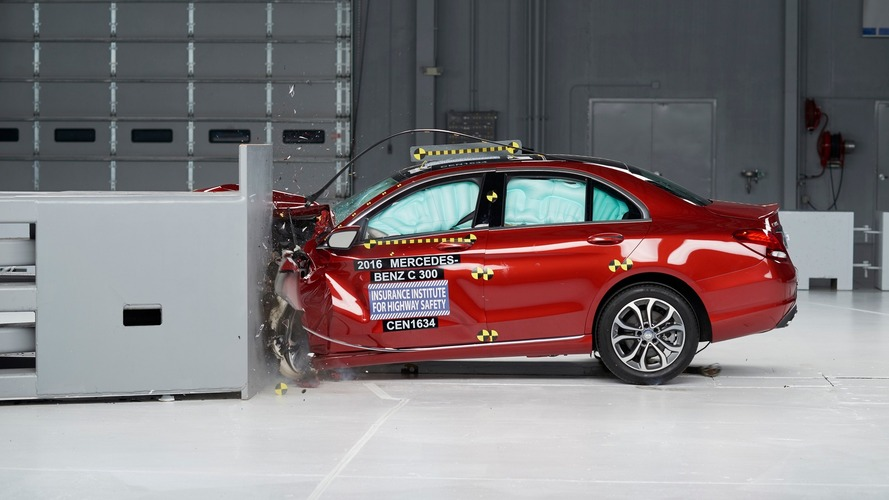 Mercedes C-Class earns top crash award
