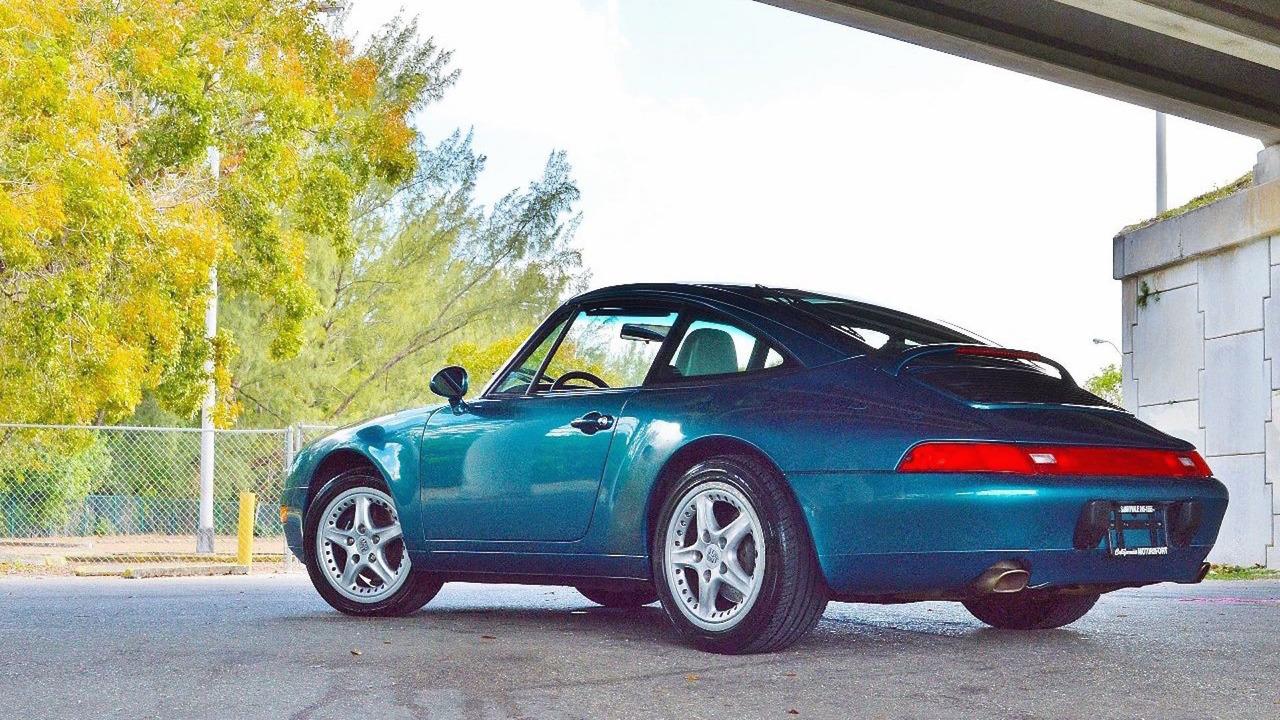 Teal Porsche 993 Targa Ebay Find Is Pure 39 90s Nostalgia
