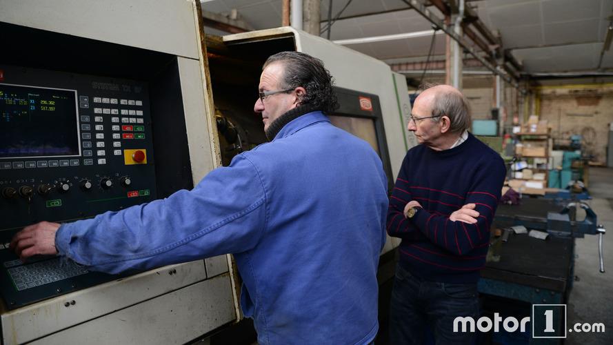 Visite de l'usine Secma à Aniche