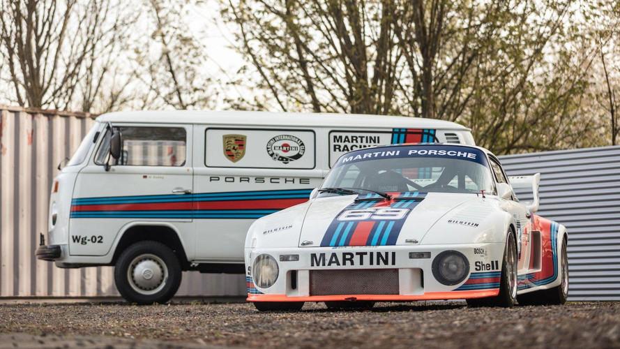 Un increíble Porsche 935 y su furgoneta de asistencia a subasta