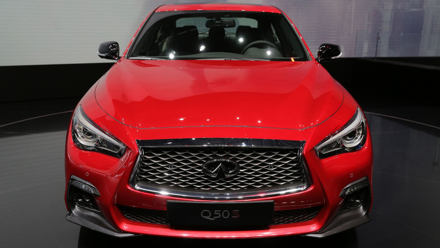 Infiniti Q50 get modest restyle, self-driving tech for Geneva