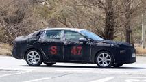 2018 Lynk & Co Sedan spy photo