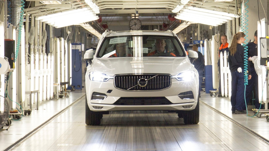 2018 Volvo XC60 Production Begins In Sweden