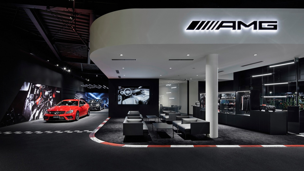 Mercedes-AMG Showroom