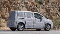 2018 Peugeot Partner spy photo