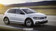VW Polo Alltrack render