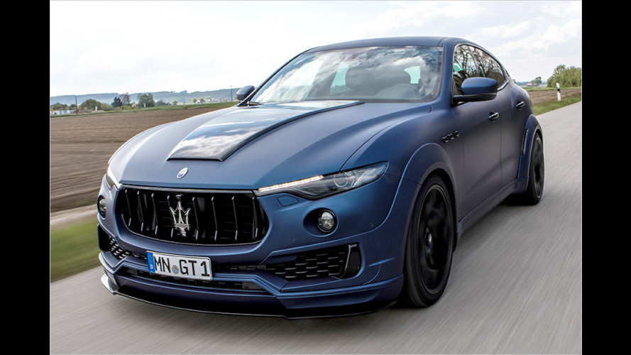 Novitec Esteso: Maserati Levante in extrabreit