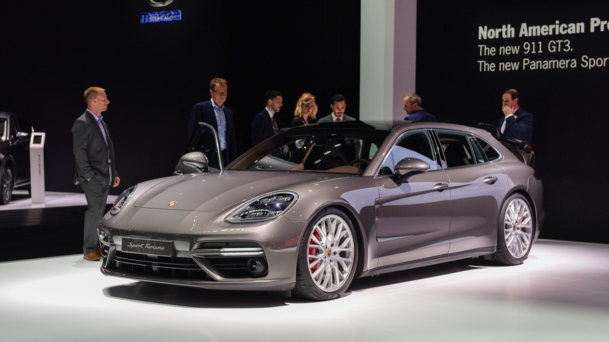 Porsche Panamera Sport Turismo Looks Just As Pretty In U.S. Spec