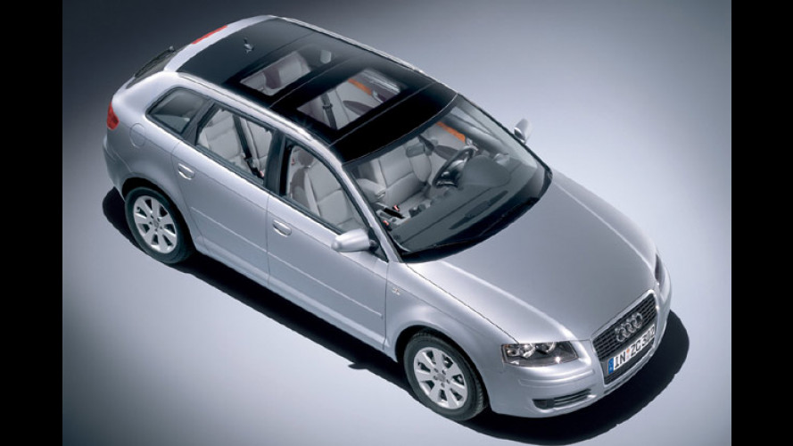 Mehr Licht: Audi A3 Sportback mit Open Sky System