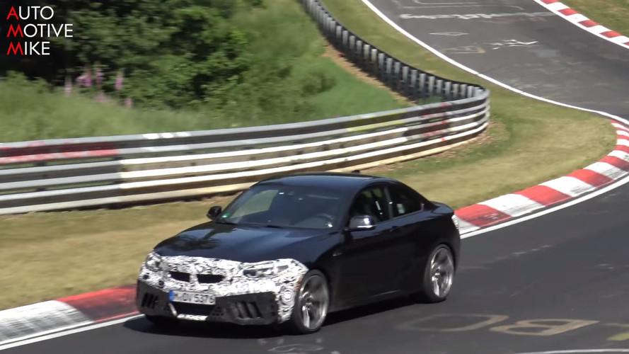 2018 BMW M2 CS screenshots from spy video