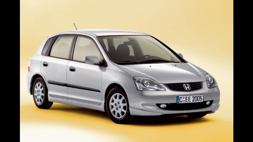 Honda Civic Fünftürer: 1.200 Euro sparen mit Extra Edition