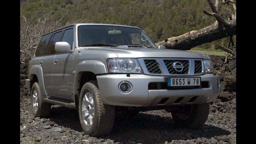 Neuer Nissan Patrol auf dem 4x4-Salon von Val d'Isère