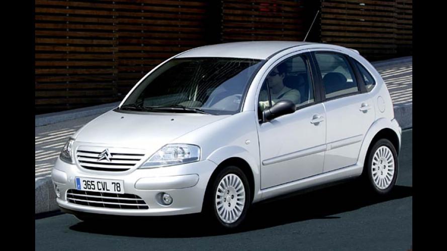 Citroën C3: Start-Stopp-Automatik und Erdgasantrieb