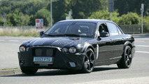 Next Jaguar XJ mule prototype