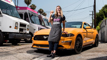 Ford Mustang Ice Cream Sandwich