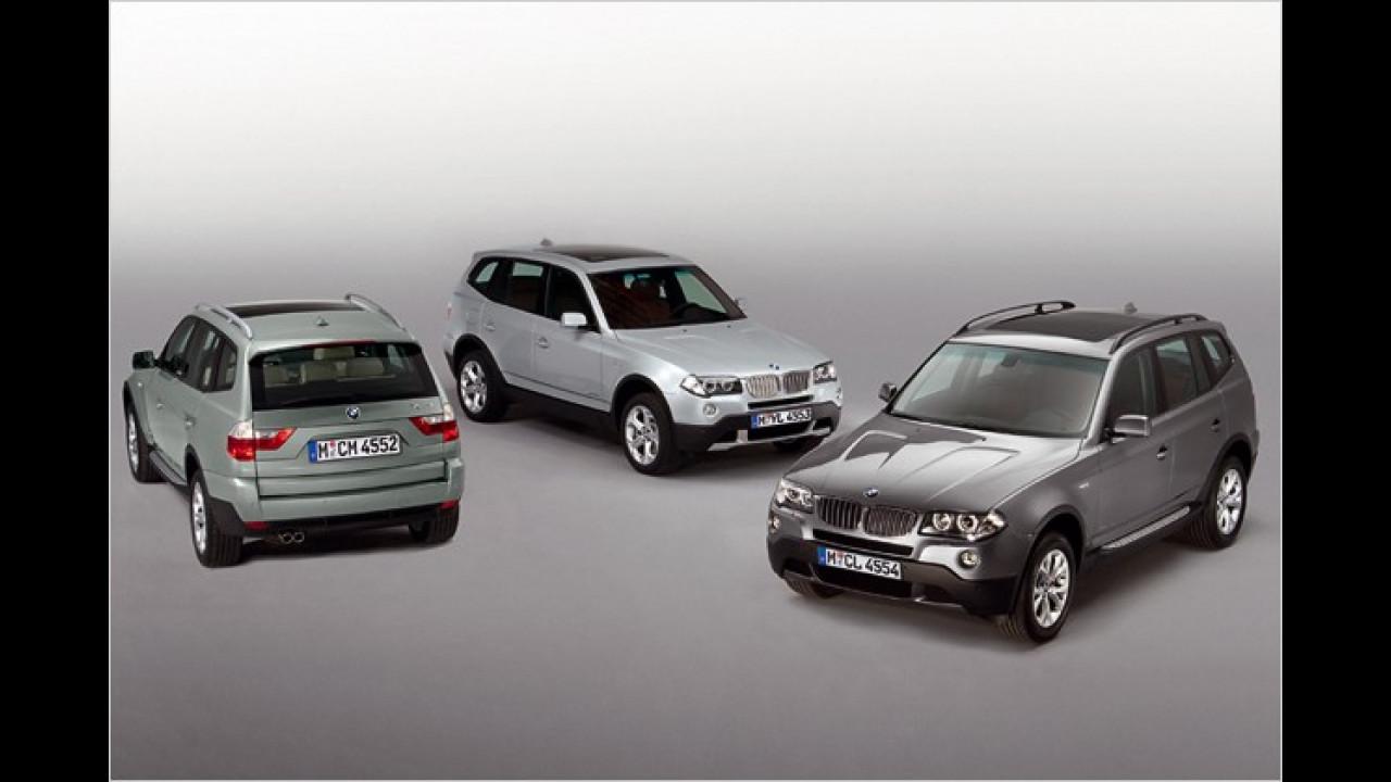 BMW X3 Editionsmodelle