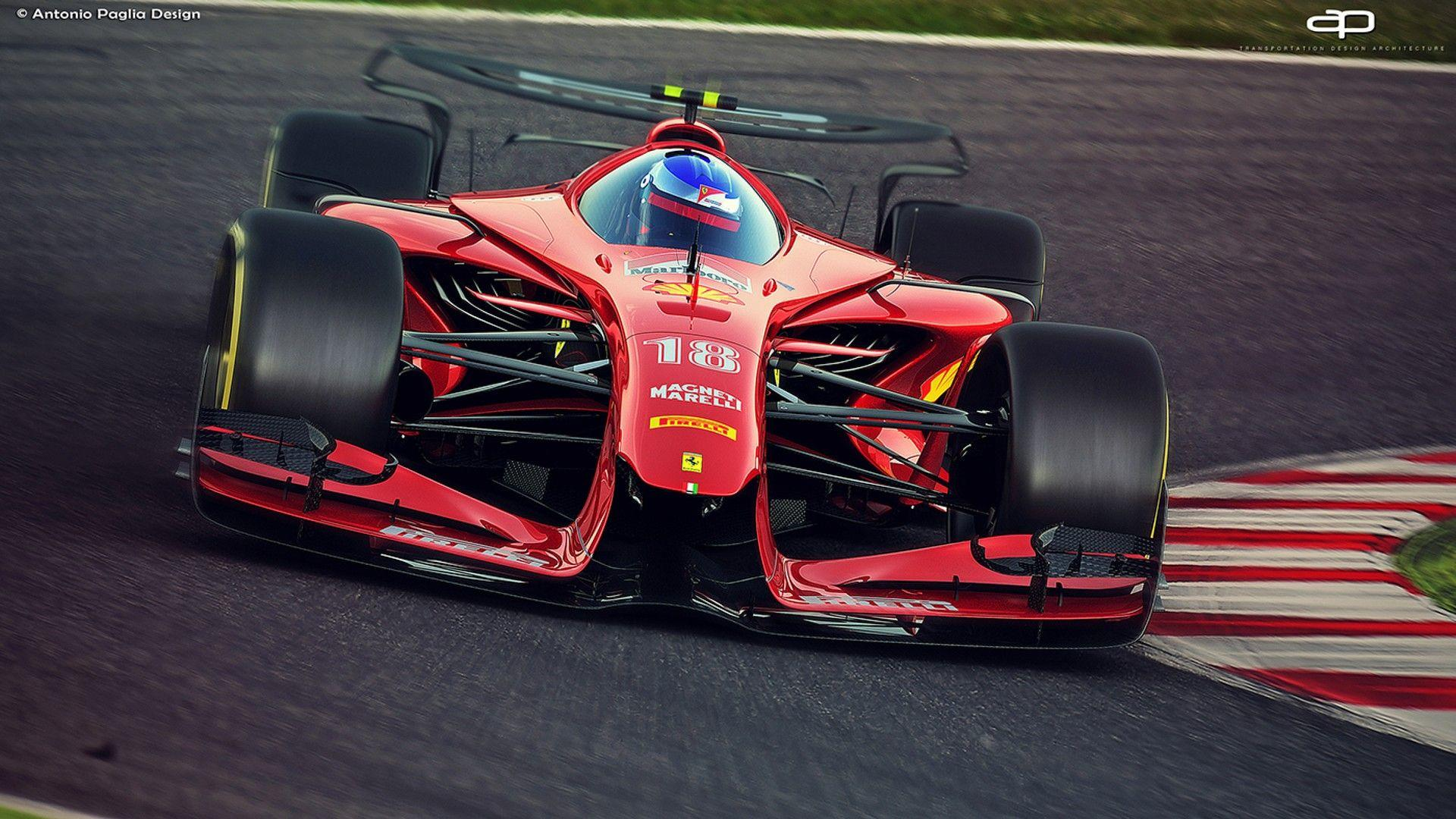 We Can Only Hope F1 Cars Will Look This Good In 2025