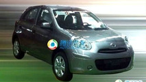 2010 Nissan Micra spy photos uncovered